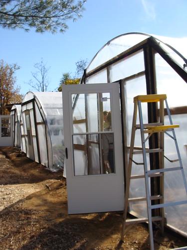 Hoophouses in Plastic