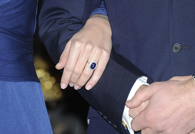 engagement ring Prince William Kate Middleton