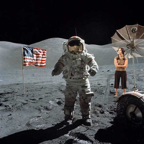Jodi on the Moon