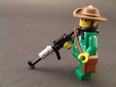 Viet Cong Fighter (Shadow Viking) Tags: war lego vietnam minifig coldwar ak47 blackops vietcong