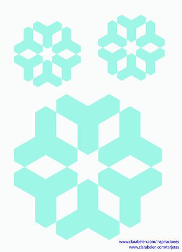 copos de nieve sencillo