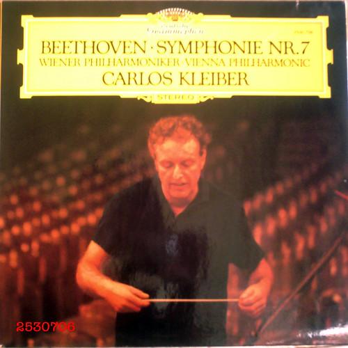 ベートーヴェンの交響曲演奏の金字塔★カルロス・クライバー、ベートーヴェン:交響曲No.7 ブルーリングラベル、1stラベル