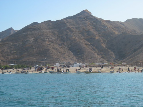 Beaches Along Gulf of Oman