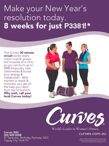 Curves 8 Weeks Promo pesos