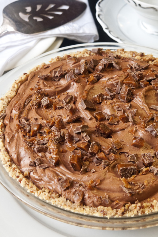 French Silk Pie Tall Post sm