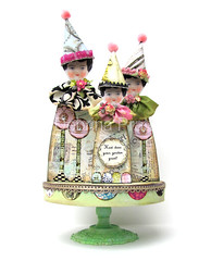 *HoW DoeS YouR GaRDeN GRoW?* (sPaRK*YouR*iMaGiNaTioN) Tags: roses party art collage fairytale altered garden paper doll dolls head antique cottage hats ephemera fantasy chic whimsical pedestal shabby effa zne earthangelstoys debrinapratt cssteam