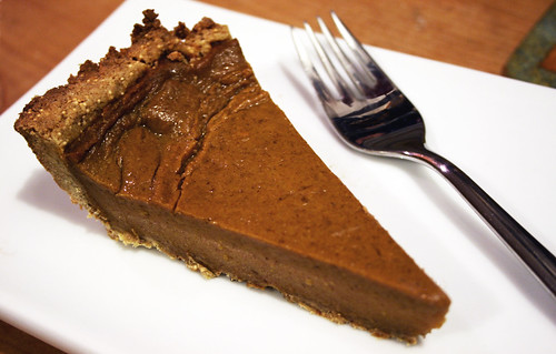 Sweet Potato Pie with Seedy Amaranth Crust