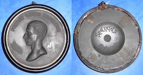 Prince Louis Napoleon medal made from spences metal
