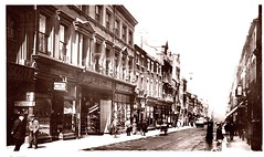 Liverpool c 1913 Postcard - Bold Street, Pre-WW1 Period (ronramstew) Tags: old city uk england history shop retail liverpool vintage shopping postcard centre lancashire business commercial shops historical 1910s mersey businesses 1913 merseyside boldstreet preww2