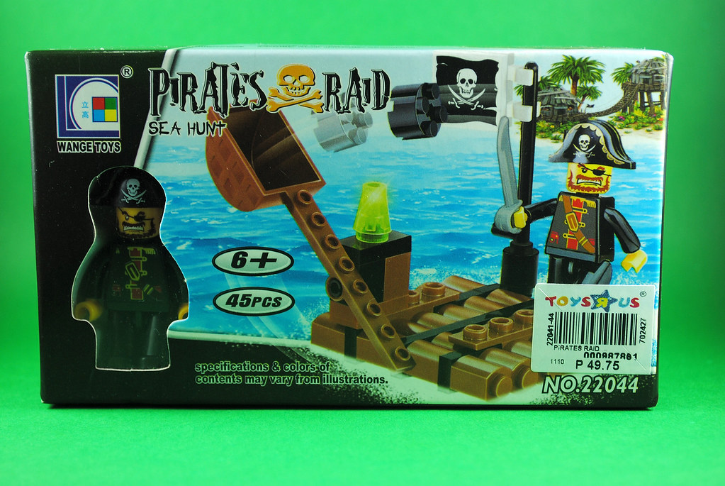 Pirates Raid pseudo-Lego toy from Wange Toys