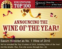 Top 100 de Wine Spectator 2010