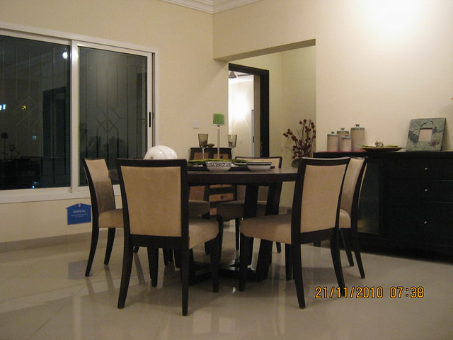 Sobha Ivory, 3 BHK Flats at NIBM-Kondhwa, Pune - dining in the sample