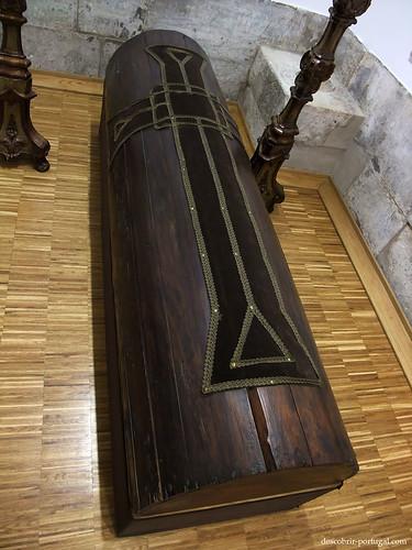 Cercueil en bois du Marquis