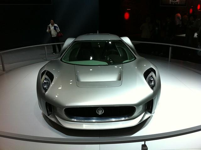 Jaguar Concept front