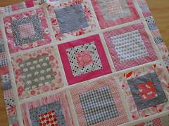 Work in progress: a quilt for Levi (lindakl) Tags: girl quilt farmersmarket sewing fabric quilting weekends ladybugs jaymccarroll babyquilt japanesefabric heatherbailey konacotton joeldewberry sandihenderson erinmcmorris niceyjane keidaisydots