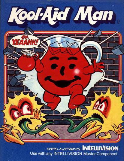 Kool-Aid Man Intellivision box