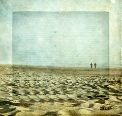 run babe, run.. (petitillusion) Tags: sea summer sky people texture beach sand holidays texturespektoraladdendum