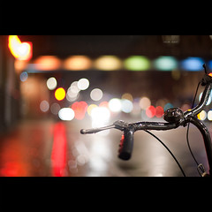 Day One Hundred Forty Four (David Dahlin) Tags: bridge colors bicycle dof stockholm bokeh