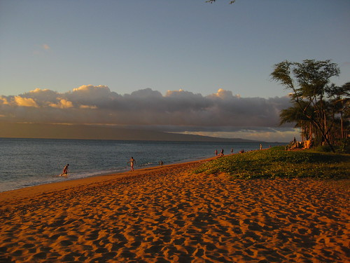 Kaanapali Beach- great place for people watching