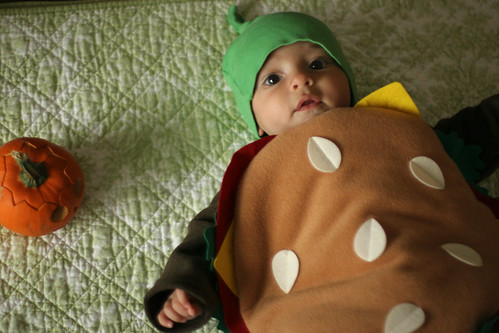 hamburger baby,