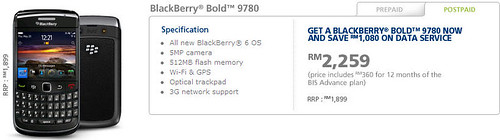 5205493667 029811c741 Blackberry Bold 9780 Available At Maxis Now, At Last