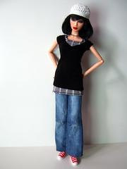 Cross shirt combinations (Levitation_inc.) Tags: fashion model ooak barbie joan levitation muse clothes jett royalty pivotal
