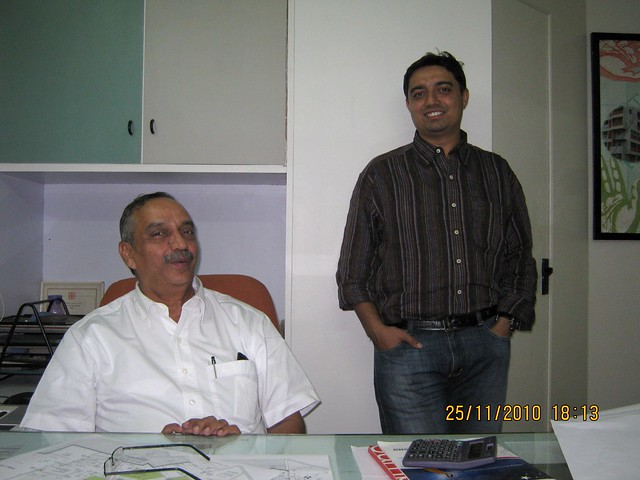Architect Vishwas Kulkarni (VK:a architecture) and Architect Hrishikesh Kulkarni (VK:e environmental) IMG_4179