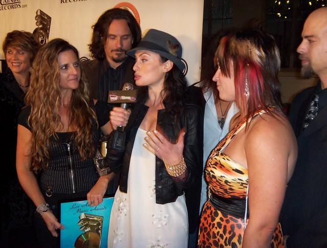 Sheri Puorto, Samantha Gutstadt, Christy Johnson, LA Music Awards 2010