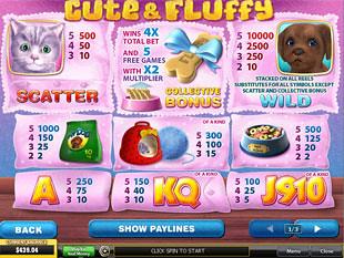 free Cute and Fluffy slot mini symbol