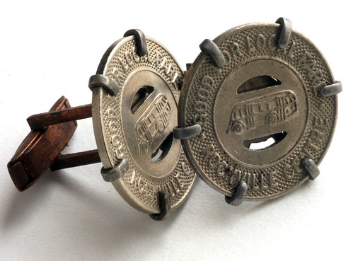 Rockville Centre Token Cufflinks
