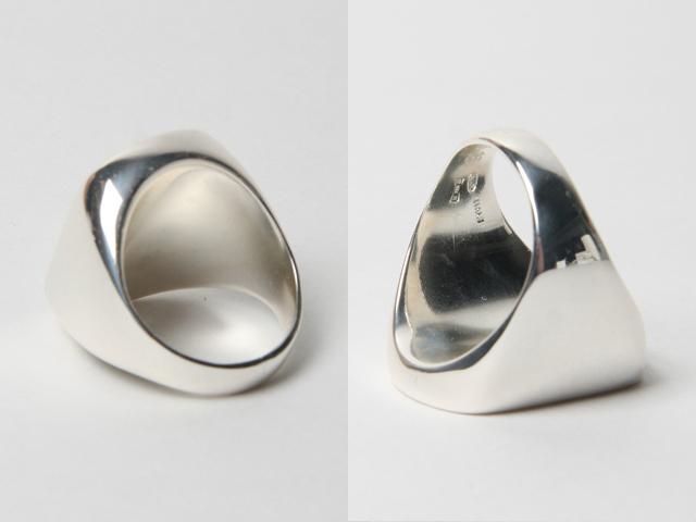 Martin Margiela silver ring 02b