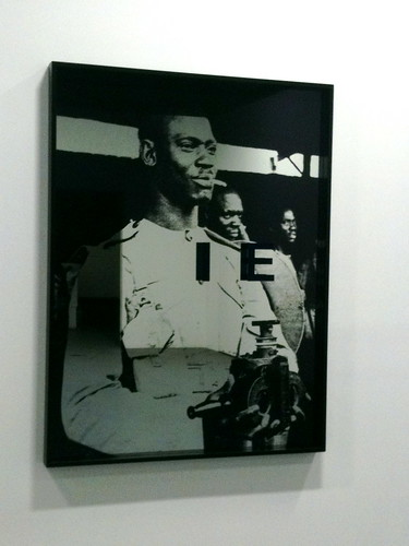 From Adam Pendleton exhibit @ the Kitchen