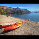 Lake Wanaka, Otago, South Island, New Zealand :: HDR