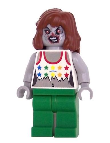 Custom minifig Zombie
