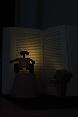 Danbodore dies on page 596 (Benedikt.B) Tags: buch lesen reading book harrypotter walle danbo canon50mm14 canoneos50d danboard revoltechdanboard