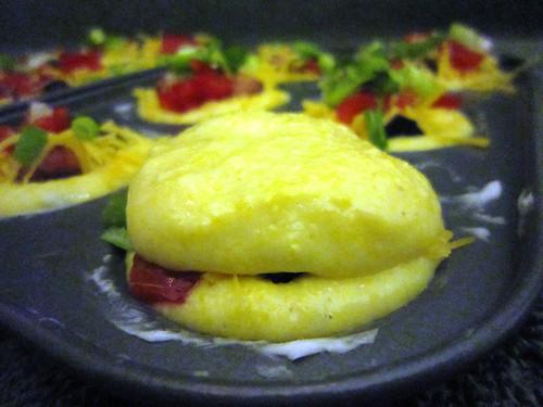 Corn muffin tops