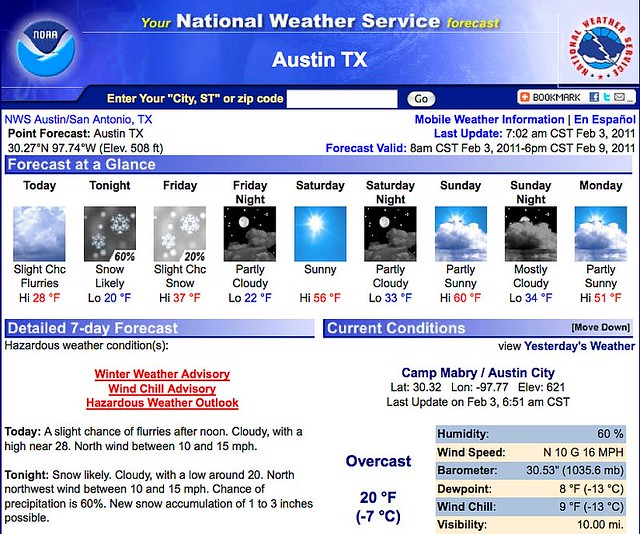 Snow Soon!