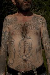 Marian_5892 (VonMurr) Tags: man male tattoo raw drawing poland pride prison warsaw 1978 prisoner marian brutal compromise czarne primitiveart expresionism wola rawtattoo татуировка maurycygomulicki moczydło dziara наколка