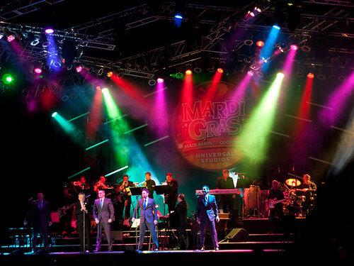 Frankie Valli & The Four Seasons - Universal Studios Mardi Gras 2011
