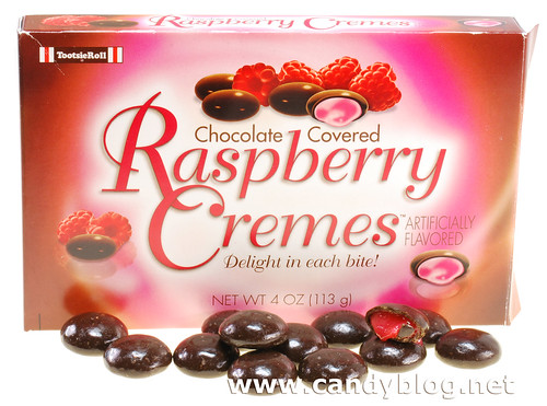 Tootsie Roll Chocolate Covered Raspberry Cremes