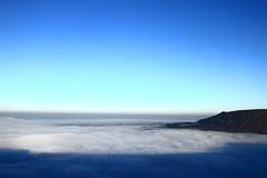 I found heaven (Alexandre Kundun) Tags: blue sea sky sun mer mist sunshine fog sunrise canon eos soleil heaven angle wide bleu ciel 7d 1022mm brouillard paradis brume lenz couch alextotoro