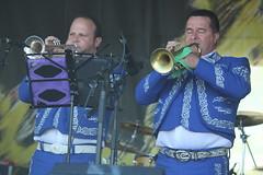 Mariachi Jalisco US (2017) 03 (KM's Live Music shots) Tags: worldmusic cuba mariachi mariachijaliscous trumpet neworleansjazzheritagefestival jazzheritagestage fairgroundsracecourseneworleans