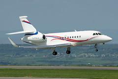 G-PULA Falcon 2000LXS. Bristol 15/05/2016 (Tu154Dave) Tags: gpula falcon dassault f2000 2000lxs falcon2000lxs brs bristol airport aircraft corporate business