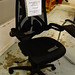 Napier high back swivel chair 3 lever adjustment E195
