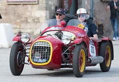 Mille Miglia, Gubbio 2017 (MikePScott) Tags: benedetti camera car events gianninifiat750sport gubbio italia italy millemiglia nikon28300mmf3556 nikond600 transport umbria