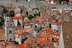 Competition time (PentlandPirate of the North) Tags: dubrovnik rooftop tiles croatia satellitedishes aerials unesco