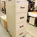 Chubb 4 drawers filing cabinet  E300