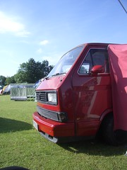Camping with a VW Type-25 (Howard Dickins) Tags: festival vw volkswagen awning folk t3 camper warwick type25 caravelle warwickfolkfestival