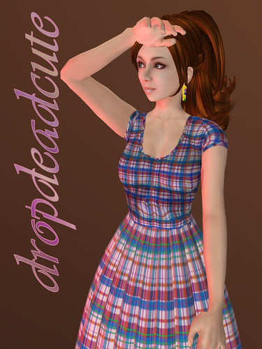 dropdeadcute ~ Plaidness Parfait (dress)