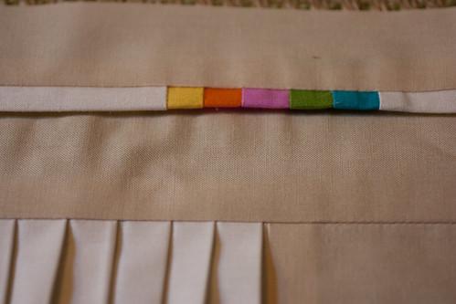 Textural w/ a pop of color block for Sarah